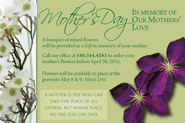 Mother's Day at Cedar Lawn 2015