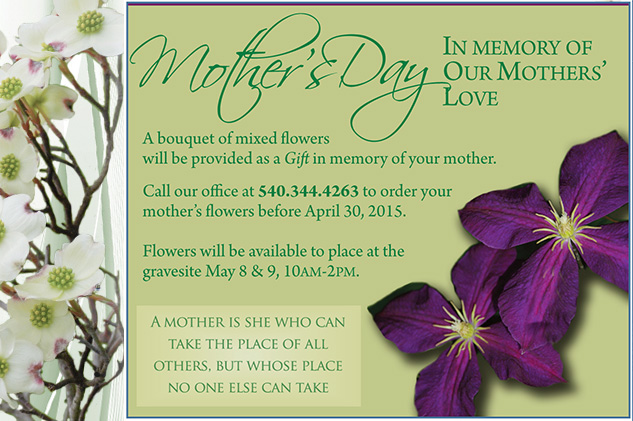 Mother's Day at Cedar Lawn, 2015
