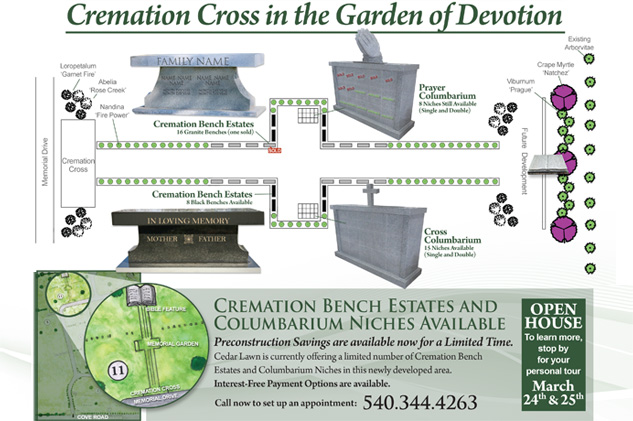 Cremation Cross & Garden of Devotion
