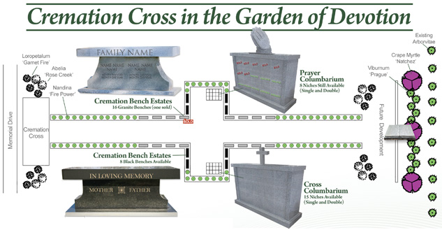 Cedar Lawn Memorial Park Cremation Garden Options