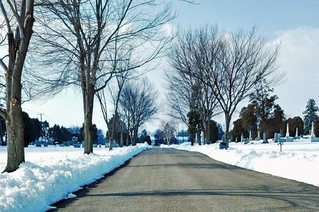 Road through Fair View