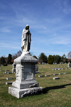 Monument at Fair View Cemetery
