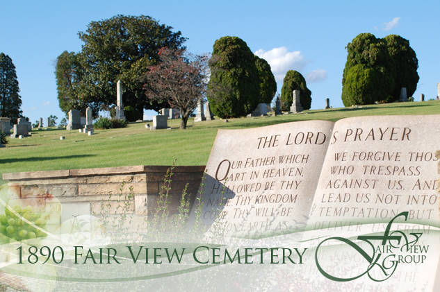 Fair View Cemetery, Established in 1890