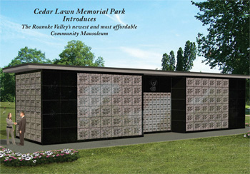 Community Mausoleum at Cedar Lawn Memorial Park