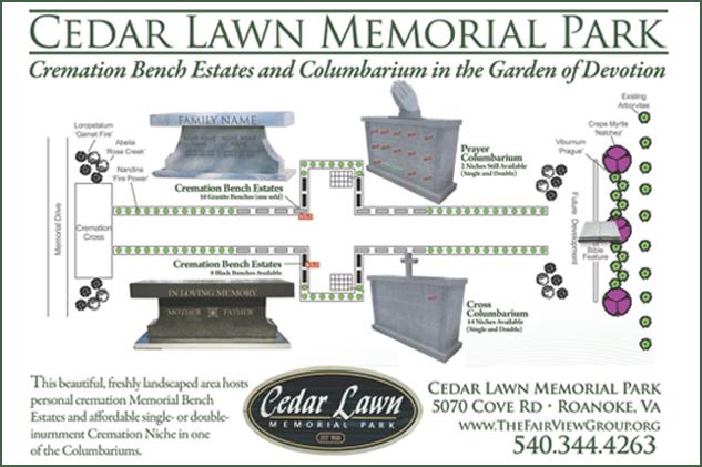 Cedar Lawn Cremation Garden