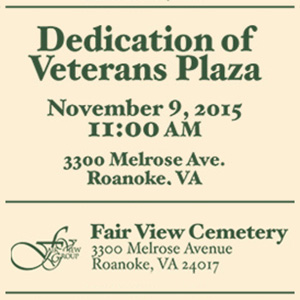 Veterans Day, November 9, 2015