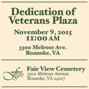 Veterans Day, November 9, 2015